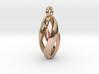 Spiral Spheroid Pendant 2 3d printed