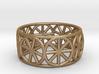 Dharma Wheel Ring 3d printed