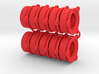 O-ring BackPlate 10 pack 3d printed