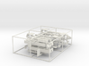 1/50th six log truck frame end kits  3d printed