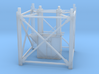 """1/64th """"S"""" Scale Grain Leg/Tower 10ft Bottom Sect 3d printed"""