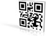 QRCode -- fsdfsdfs 3d printed