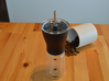Coffee Grinder Bit For Drill Driver CDP-LRE 3d printed With Hario Coffee Mill Slim Grinder