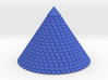 Roof with tiles 54mm hight  Diameter ~73mm 3d printed