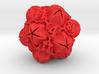 Floral 2 - D20 Large balanced gaming die 3d printed