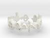 """Cast Out Fear"" Surakian Vulcan Ring- Cut Style 3d printed"
