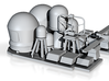 1/96 scale Littoral Combat Ship - Fittings set 3d printed