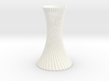 Twited Vase for home decoration 3d printed