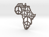 African peace 3d printed