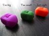 Four sided roller die 3d printed To fit this die with the others in the set took some doing..