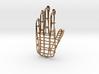Hand Pendant 3d printed