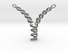 Replicating DNA Pendant 3d printed Replicating DNA pendant