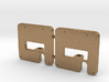 2x Mittelpufferhalter 99 222 V01.5 3d printed