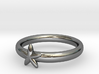 Mini-Star Ring UK Size N (US Size 6 ¾) 3d printed