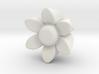 Flower Guitar Knob 3d printed