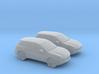1/120 2X Porsche Cayenne 3d printed
