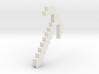 Minecraft pickaxe Pencil Grip 3d printed