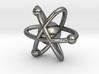 Atom Charm 3d printed