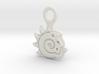 Keychain Pendant Lightwave Logo 3d printed