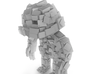 Minecraft Rock Monster 3d printed No textures