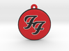 Foo Fighters Logo Pendant / Ornament 3d printed