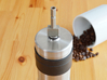 Coffee Grinder Bit For Drill Driver CDS-L 3d printed With Porlex Mini Stainless Steel Coffee Grinder