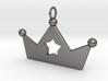 Crown Star Pendant 3d printed