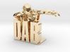 DAB-man Pendant 3d printed