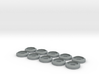 BOEINGH 737 INSTRUMENT COUNTERSUNK WASHERS 12_5 10 3d printed