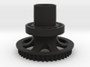 Rear Hub - One Piece For KP Spokes 3d printed