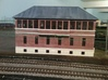 ZOO TOWER 87 Brick /Slate roof  3d printed Painted by Charlie Chandler on his layout wow !