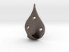 Dew Drop Coat Hook 3d printed
