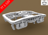 TT Scale Y25 Type Chassis 2pcs (EU) 3d printed Y25 Type Chassis