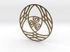 Triquetra with Triskele Pendant 3d printed