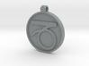 Zodiac KeyChain Medallion-CAPRICON 3d printed