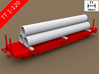 TT Scale Smmps Wagon Steel Tubes Cargo 3d printed TT Scale Smmps Wagon Steel Tubes Cargo (Smmps wagon not included)