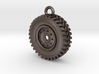 WHEEL KEYRING 3d printed