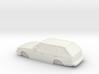 ho scale 1980-1983 toyota corolla wagon 3d printed