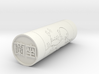 Zara Japanese stamp hanko 20mm 3d printed