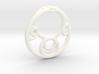 Möbius Fractal Pendant 3d printed