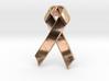 Classic Awareness/Cancer Ribbon Pendant 3d printed