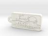 Natalie Name Japanese tag 3d printed