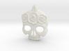BlakOpal Skull with Rose Crown Charm 3d printed