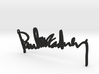 Paul Mccartney Signature Pendant 3d printed