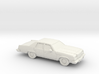 1/87 1977-78 Buick Electra Sedan 3d printed
