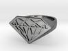 RUBINI Ring 3d printed RUBINI Ring in 925 sterling silver
