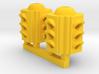 Traffic Light 4 Way Body (Qty 2) - HO 87:1 Scale 3d printed
