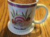 "4"" Custom Rose Window Coaster 3d printed Coaster with Mug"