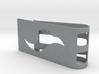 Flow Face Money Clip 3d printed