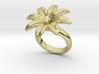 Flowerfantasy Ring 17 - Italian Size 17 3d printed